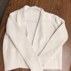 Knit White Gap Sweater